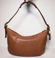 Coach Women's Vintage Brown Lether Hobo Shoulder Bag #9214