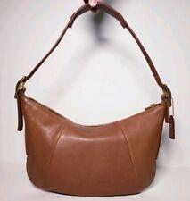 Coach Women's Vintage Brown Lether Hobo Shoulder Bag #9214