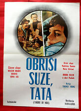 CHRISTMAS TREE 1969 VIRNA LISI WILLIAM HOLDEN BOURVIL EXYU MOVIE POSTER