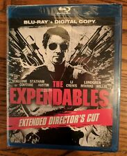 THE EXPENDABLES (2010) UNRATED EXTENDED DIRECTOR'S CUT BLU-RAY! NEW & UNOPENED!!