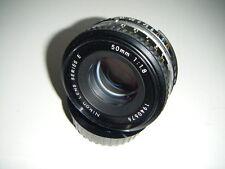 "NIKON "" E series ""  Nikkor 50mm f/1.8 Nikon Ai-S Mount Prime Lens"