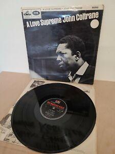 John Coltrane A Love Supreme 12 Inch Vinyl Record Jazz Mono CLP 1869