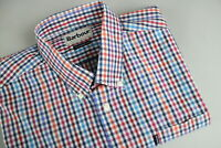 BARBOUR TERENCE TAILORED FIT Men's LARGE Thin Colorful Shirt 20889_JL