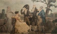 Philibert-Louis Debucourt //  XVIIIe / Gravure  /  LES GALANTS SURANNES