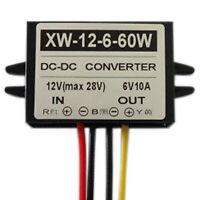 DC12V To DC6V 10A 60W Step Down Power Supply Converter Regulator Module #