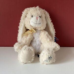 Shining Stars Bunny Rabbit Russ Soft Toy Plush Cream Comforter 8' Inches - 2006