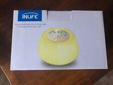 InLife Digital Sunrise Alarm LED Clock - Wake Up Light + White Noise