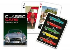 GIBSONS CLASSIC CARS PLAYING CARDS DECK OF CARDS GAME BY PIATNIK NEW SEALED