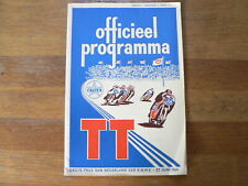 1964 DUTCH TT ASSEN PROGRAMME GRAND PRIX MOTO GP,RENNPROGRAMM,CAT