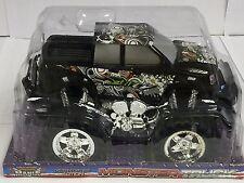Black Super Extreme Monster Truck Mania
