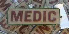 MEDIC TACTICAL 2D PVC PATCHE ( MULTICAM )