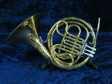 .King 618 Single F French Horn Ser#927343 Awesome King Sound Needs Re-solder.