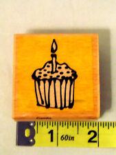 Vap! Scrap Cupcake Wood Mount Stamp Stamp Art Crafts Scrapbook Paper Fabric