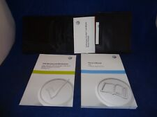 Volkswagen VW OEM 2014 Owners Operators Manual Books Case USA Edition Complete