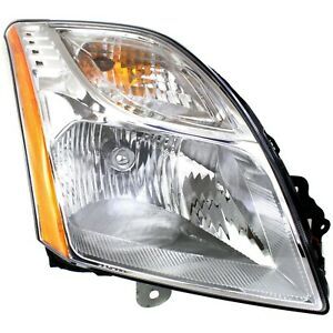 Headlight For 2010 2011 2012 Nissan Sentra S SL Models Right With Bulb