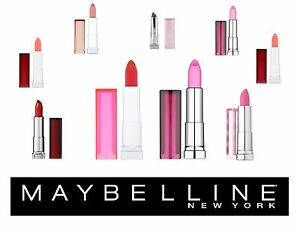 RRP £11.99 MAYBELLINE COLOR SENSATIONAL LIPSTICK & POPSTICKS various colours