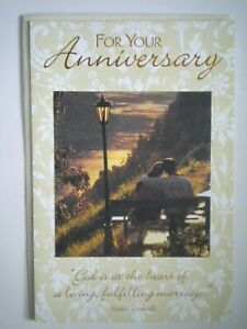 "DaySpring ~ ""FOR YOUR ANNIVERSARY"" GREETING CARD + IVORY ENVELOPE"