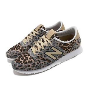 New Balance 420 Leopard Print Brown Women Running Shoes Sneakers WL420DFL B