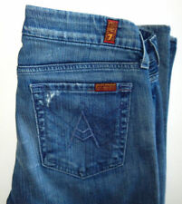 7 Seven For All Mankind 'A Pocket' Women's Distressed Bootcut Jeans~ 31X32 Act.