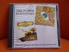CD - 13TH FLOOR ELEVATORS : FIRST + LIVE (2 ALBUMS) – US PSYCHEDELIC – DECAL