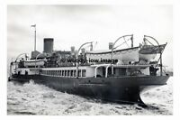 rp4644 - GSN Paddle Steamer - Crested Eagle , built 1925 - photograph 6x4