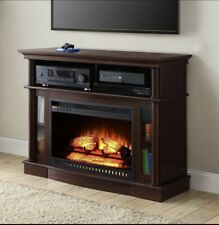 Electric Fireplace TV Stand Small Entertainment Center TV Media Console Table