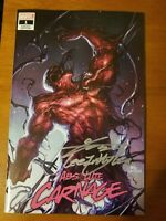 Absolute Carnage #1 (Fan Expo Variant Signed By InHyuk Lee) Cates Marvel Comics