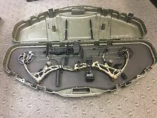 "Bear Archery Domain 29"" 70# RH Compound Bow w/Case Ready to Hunt!"