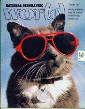 National Geographic World Magazine 1987 August