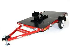 Motorbike Trailer Folding - 1 Bike Trailer & Flat Top Trailer