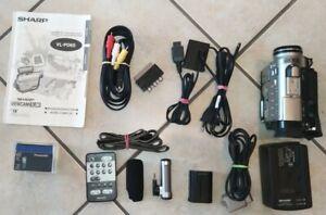 Sharp Viewcam, Mini DV Camcorder, VL-PD6S, abnehmbarer Monitor,manuel Funktionen