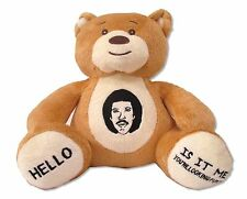 Lionel Richie Embroidered Stuffed Teddy Bear New Official