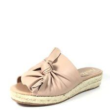 Nanette Lepore Dominik Womens Size 9 M Dusty Pink Wedge Slide Sandals.