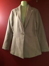 FOREVER 21 Women's Camel Outerwear Coat Jacket - Size Large - NWT