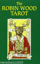 Robin Wood Tarot NEW Sealed 78 color cards Pagan symbols 56 page booklet Wicca