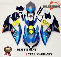 K8 Blue Shark ABS Bodywork Fairing Kit for SUZUKI GSXR600 GSXR750 2008-2010 2009