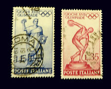 Italy Stamp 1960/ Olympics   Rome  /  Set of 2   Used