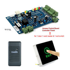 Waterproof RFID Card Reader&TCP/IP Door Access Control Board Panel w Exit Switch