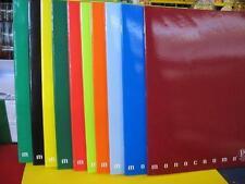 Quaderno A4 monocromo colori assortiti  pz. 10 scuola ufficio cancelleria