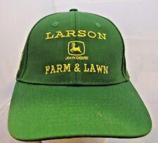 John Deere Green Baseball Hat/Cap Larson Farm & Lawn