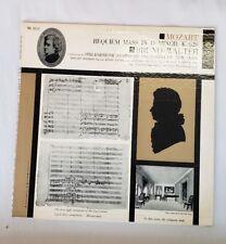 Mozart- Requiem Mass in D Minor, K. 626: Bruno Walter LP