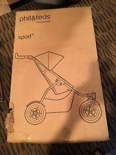 phil & teds Sport Inline Stroller Red Baby
