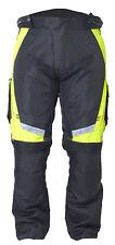 Pantaloni per motocicletta RALLYE 52/4XL GIALLO FLUOR