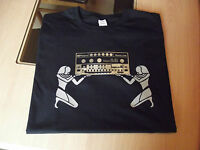 RETRO T SHIRT SYNTH DESIGN TB 303 BASS LINE SYNTH design 2 S M L XL XXL