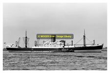 mc0070 - Glen Line Cargo Ship - Breconshire - photo 6x4