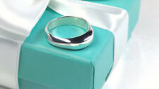 Tiffany & Co. Twist Band Dome Ring Size 8.5 Sterling Silver 925 AG NEW