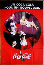 COCA-COLA * (1997) *  modèle DRACULA * Affiche 120 x 160 cm Originale