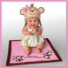 Ashton Drake Monkey Business Baby Doll by Sherry Rawn