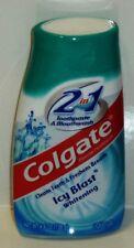 1 Colgate 2 In 1 Toothpaste & Mouthwash ICY BLAST WHITENING Liquid Gel Sealed