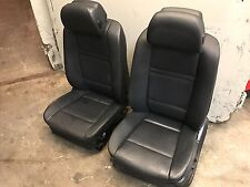 2008 BMW E70 X5 FRONT SEAT SEATS BLACK OEM
